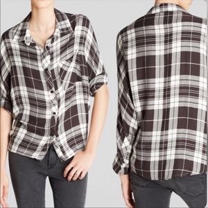 Rails Maddox Plaid Shirt Size Medium